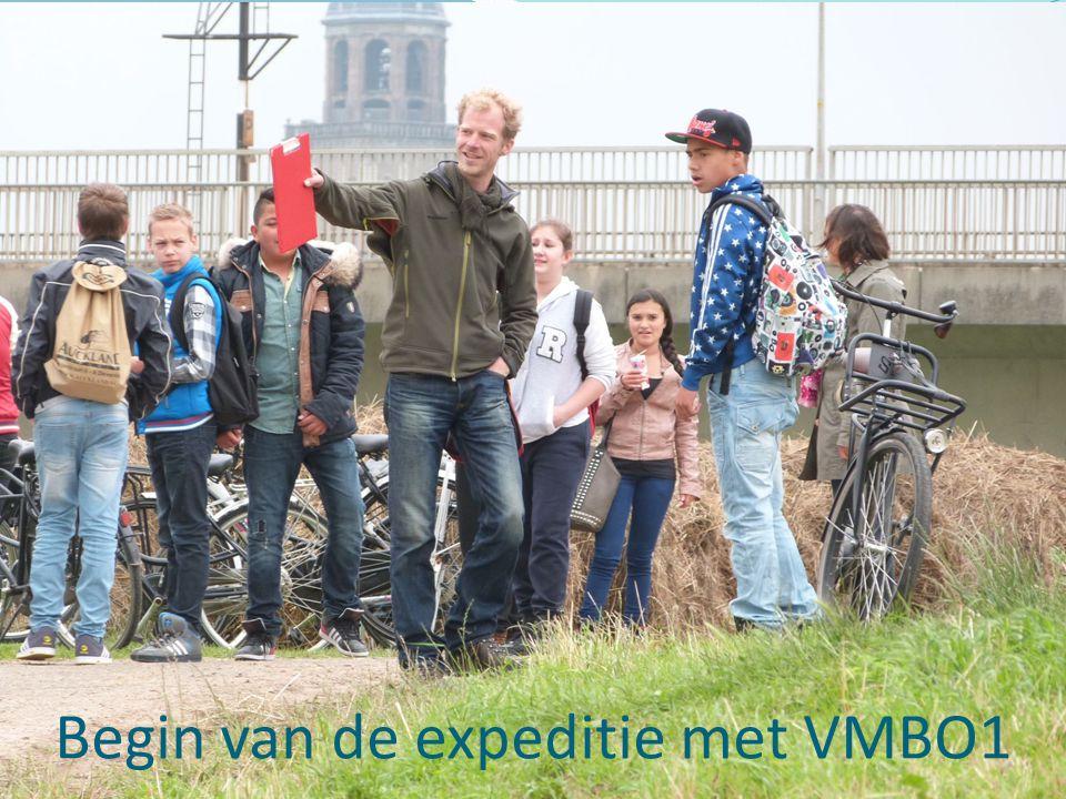 Begin van de expeditie met VMBO1