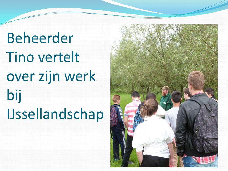 Beheerder Tino vertelt over zijn werk bij IJssellandschap