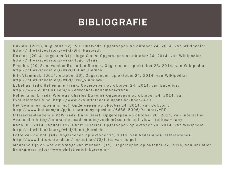 DavidD. (2013, augustus 12). Siri Hustvedt.