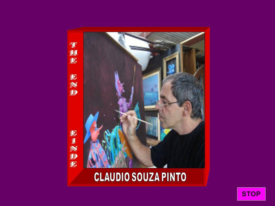 De romantische surrealistische schilder Claudio Souza Pinto werd geboren in Sao Paulo, Brazilië, in 1954.