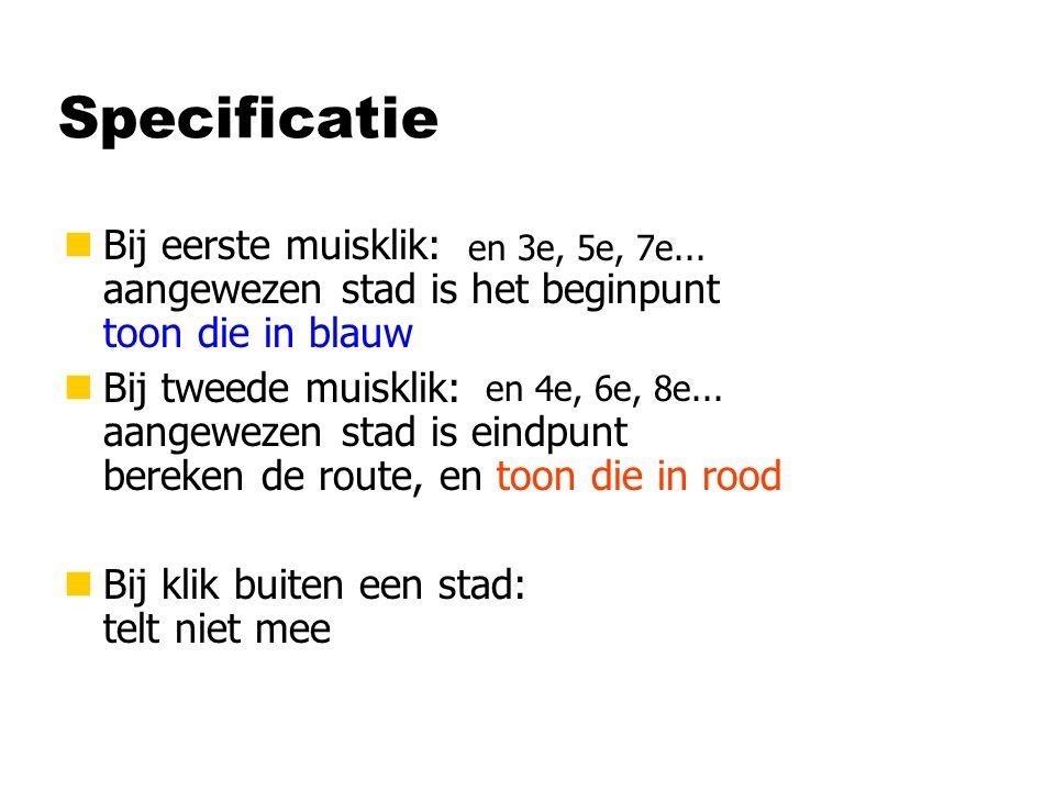 Methoden van Netwerk class Netwerk { ICollection Steden; Netwerk ( ) { } void Teken (Graphics gr) { } Steden = new LinkedList ( ); foreach ( Stad stad in Steden ) { } stad.