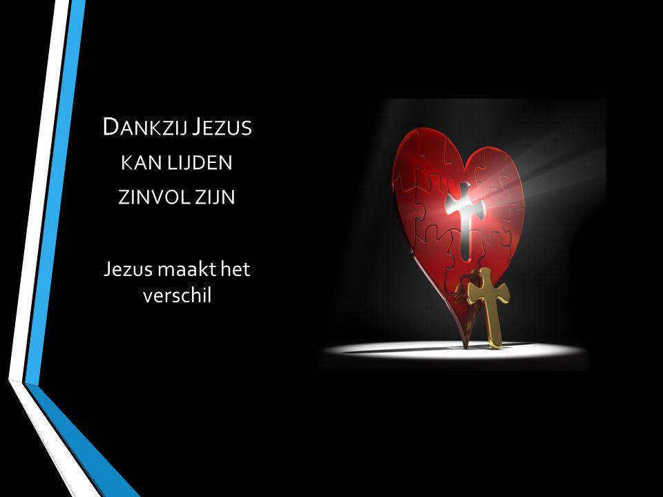 Jezus maakt het verschil