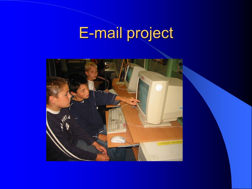 E-mail project