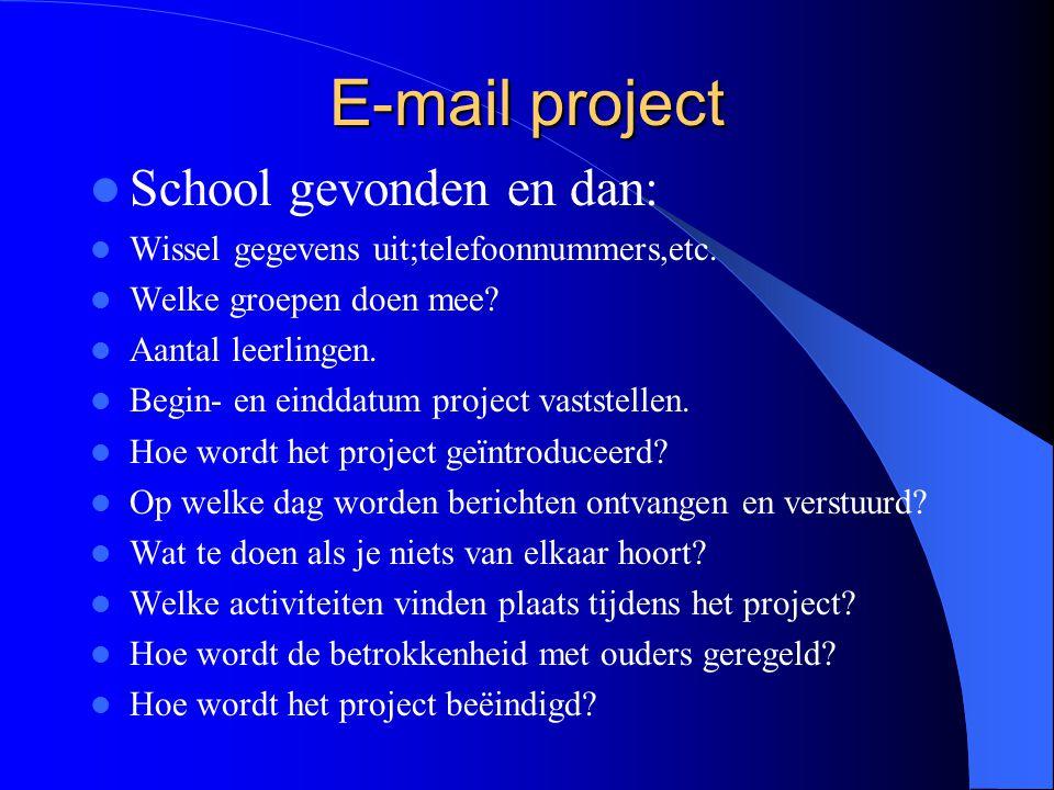 Het Plan 1. Leg fundament. 2. Ontwerp activiteiten schema.