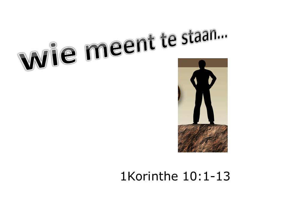 1Korinthe 10:1-13