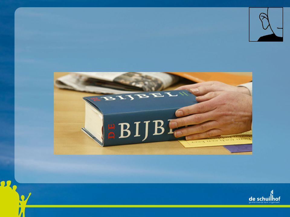God is een aansprekend God die aandacht vraagt voor zijn hoogste woord: Jezus