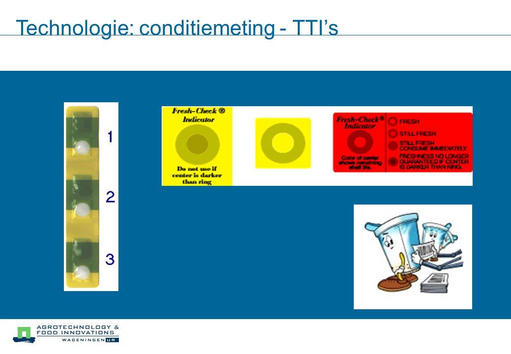 Technologie: ID + conditiemeting - RFID+Temp