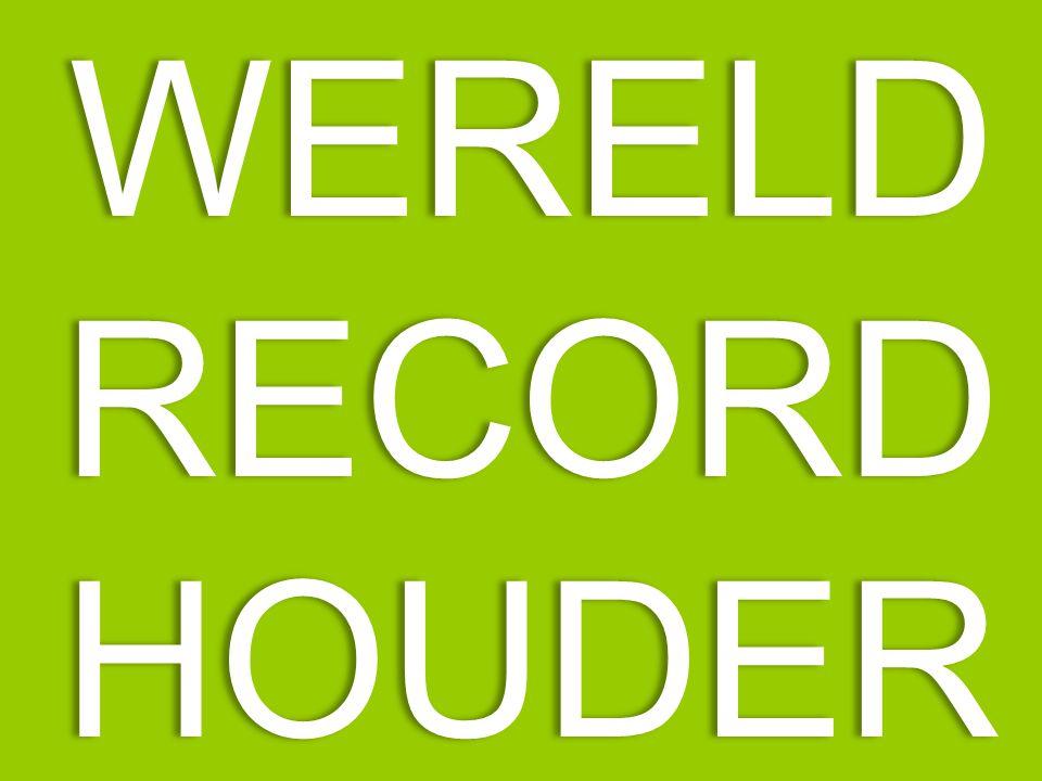 WERELDRECORDHOUDER