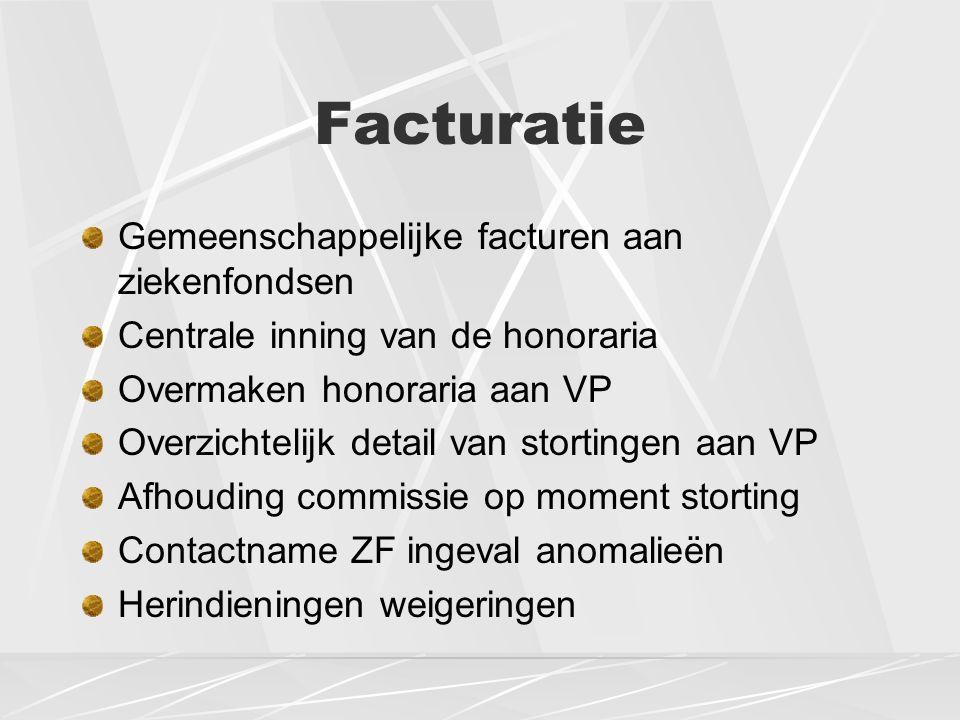 Dienstverlening Administratief opstarten praktijk Wekelijks ronddragen administratie aan huis Jaarlijkse ophaling van MRA met specifieke recipiënten Sterilisatie van medische instrumenten Helpdesk Beschikbaarheid van 7/7