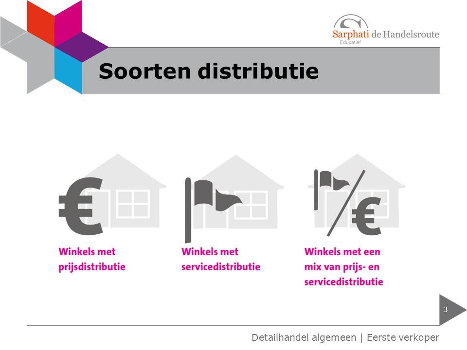 Soorten distributie 3 Detailhandel algemeen | Eerste verkoper