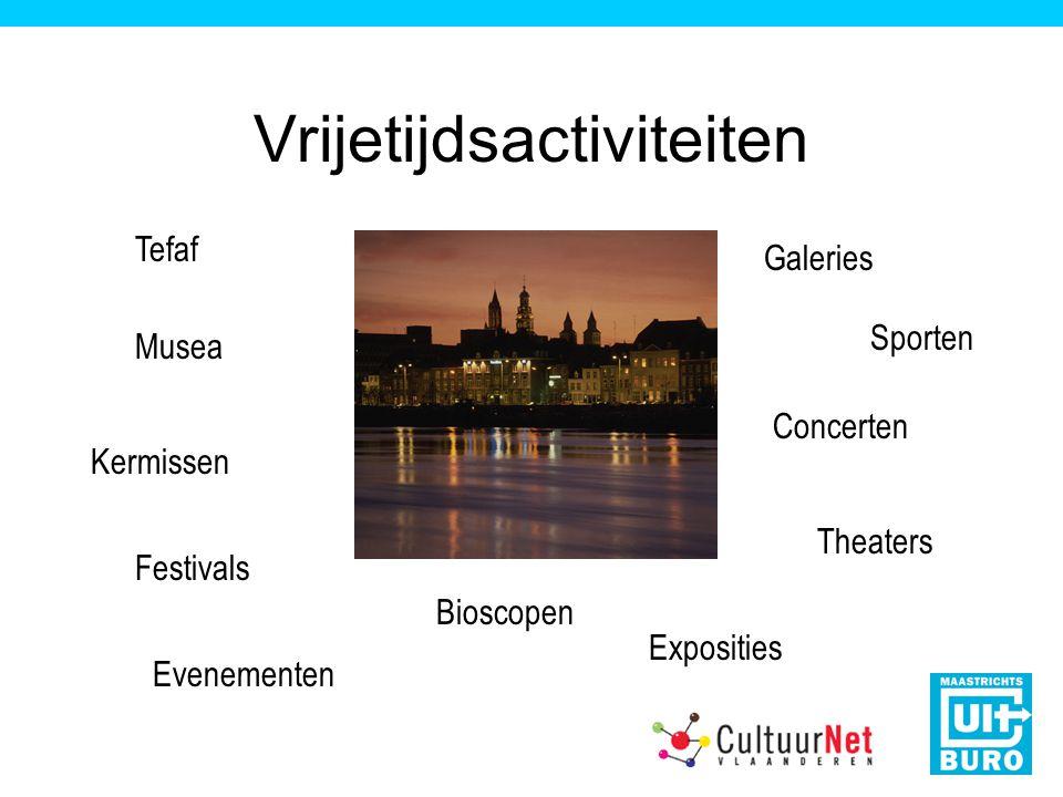 Vrijetijdsactiviteiten Tefaf Exposities Bioscopen Musea Sporten Concerten Kermissen Galeries Evenementen Festivals Theaters