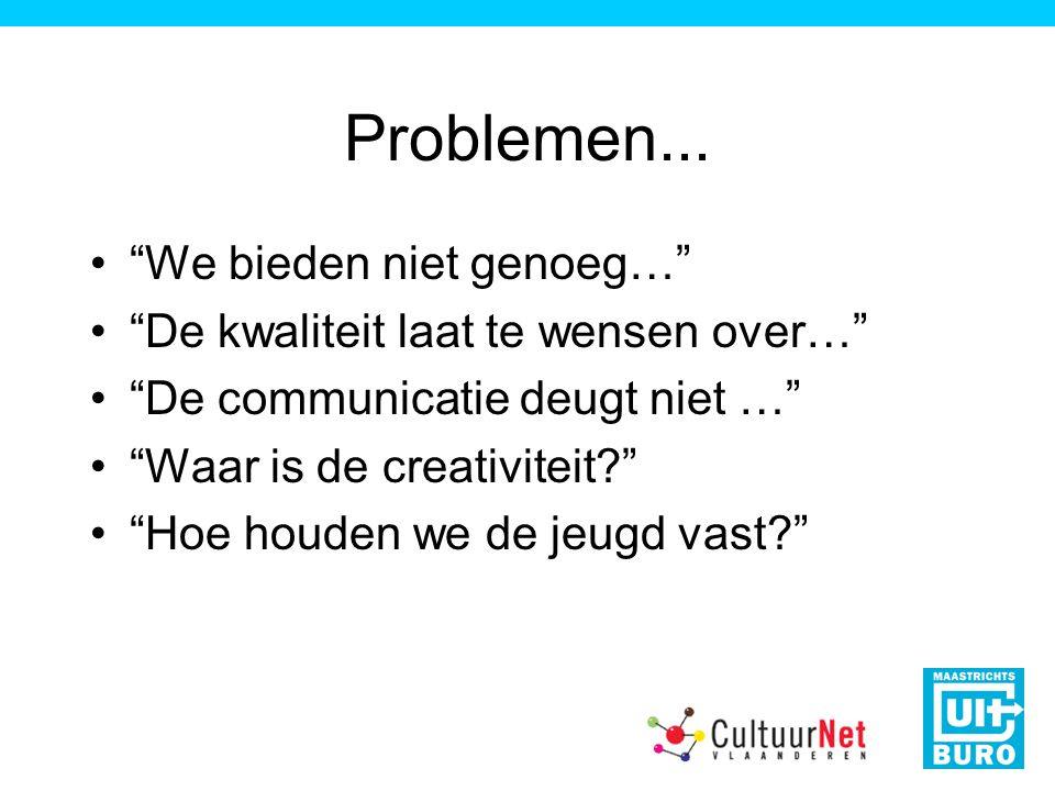 Problemen...