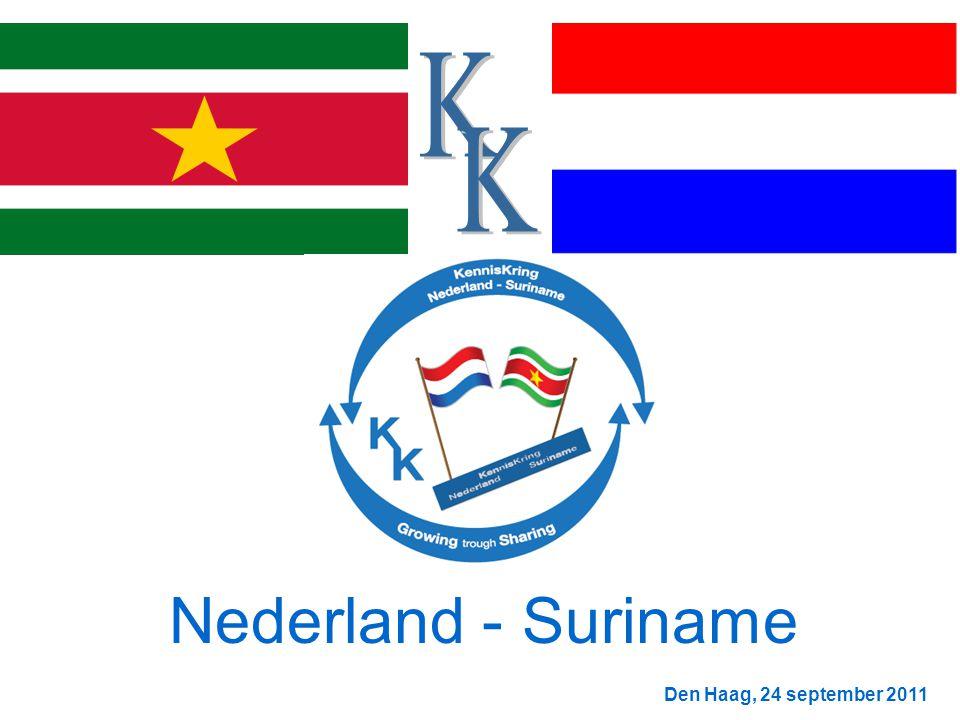 Den Haag, 24 september 2011 Nederland - Suriname
