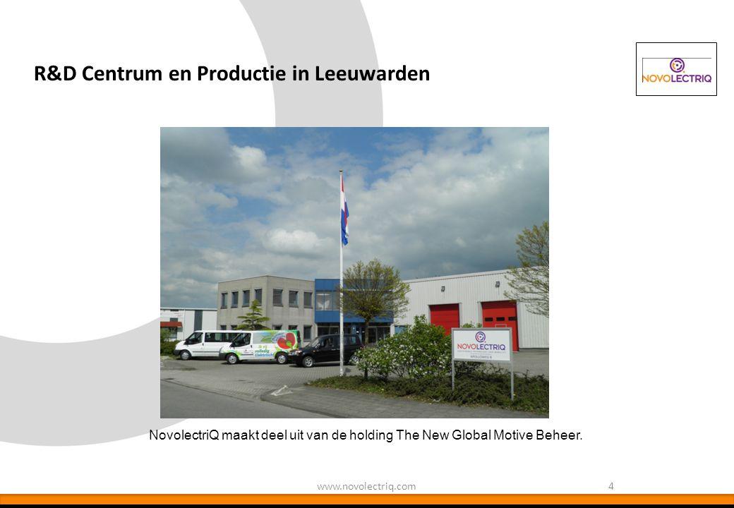 NovolectriQ maakt deel uit van de holding The New Global Motive Beheer. R&D Centrum en Productie in Leeuwarden 4www.novolectriq.com