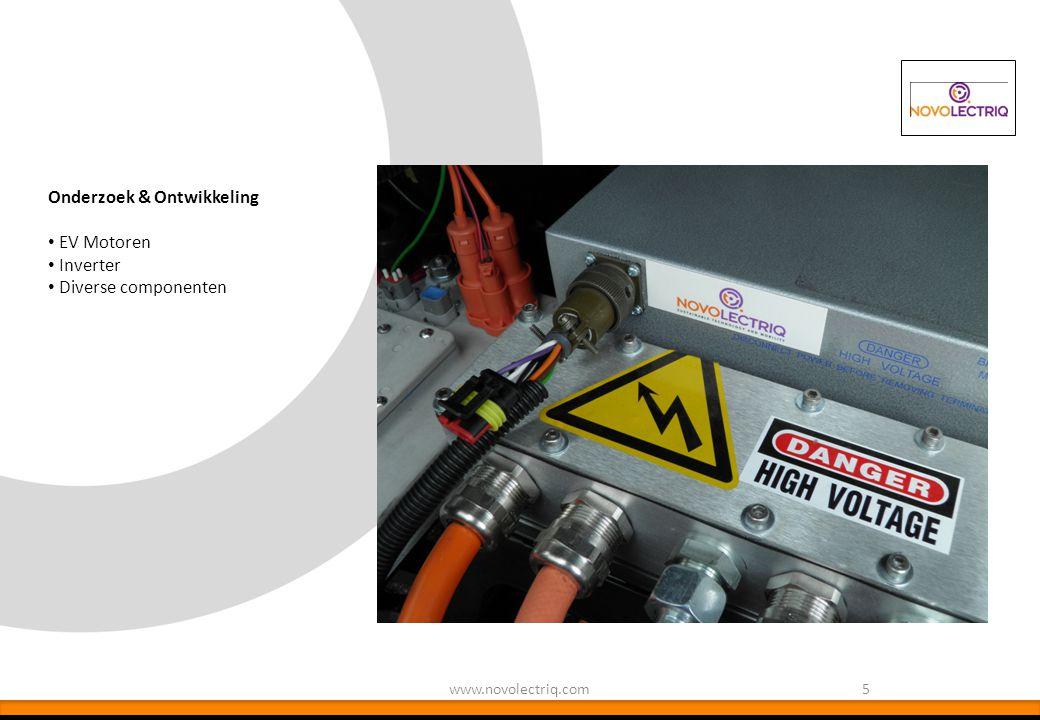 5 Onderzoek & Ontwikkeling EV Motoren Inverter Diverse componenten