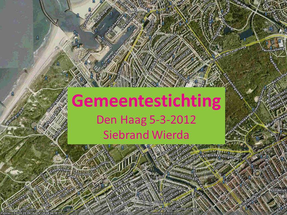 Gemeentestichting Den Haag 5-3-2012 Siebrand Wierda