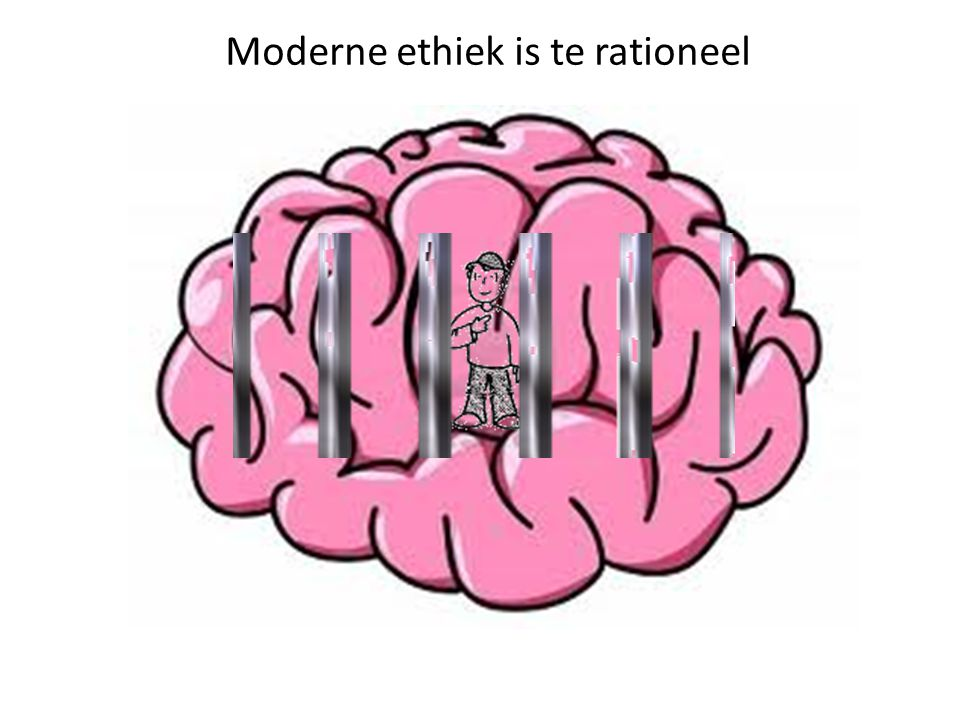 Moderne ethiek is te rationeel