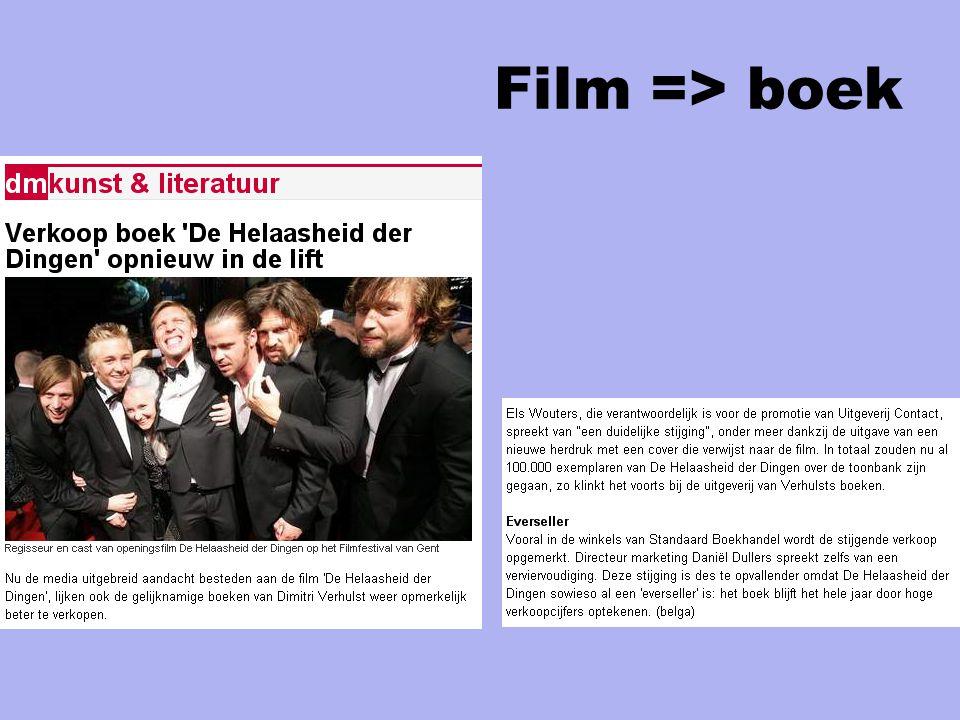 Film => boek