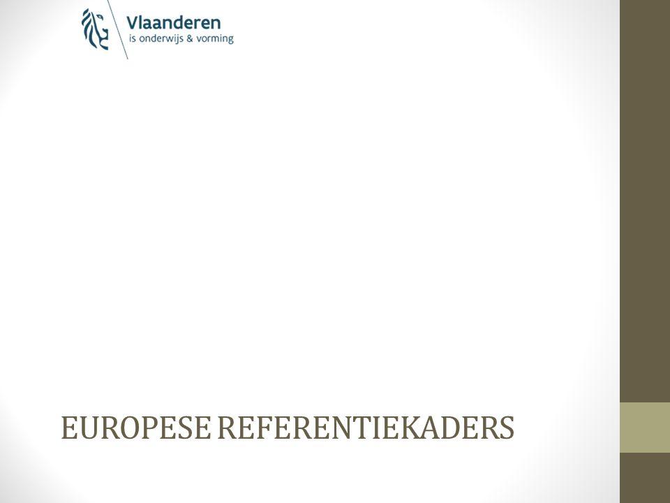 EUROPESE REFERENTIEKADERS