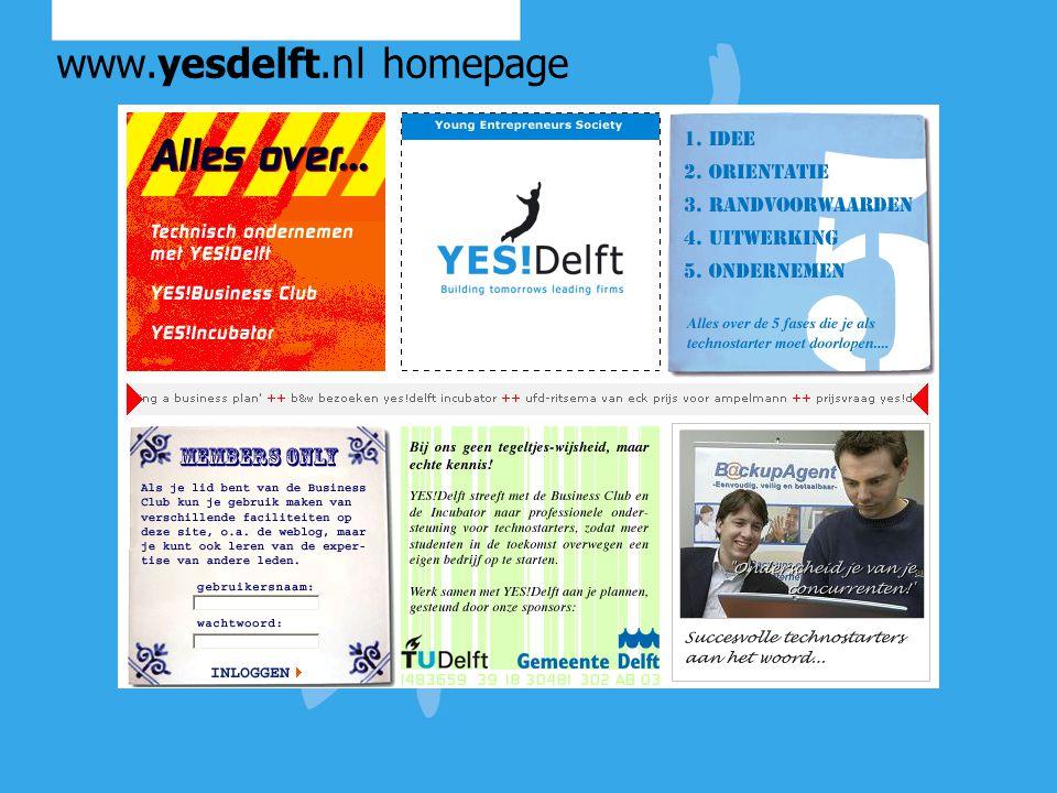 Alumni en YES!Delft Wat zou de rol van alumni kunnen zijn.