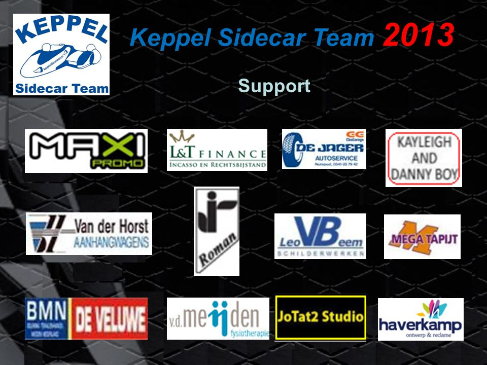 Keppel Sidecar Team 2013 Support