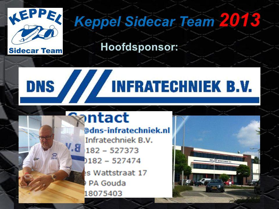 Keppel Sidecar Team 2013 Hoofdsponsor: