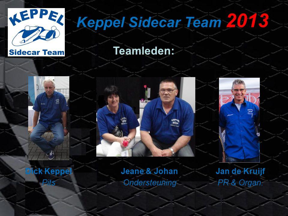 Keppel Sidecar Team 2013 Jan de Kruijf PR & Organ.
