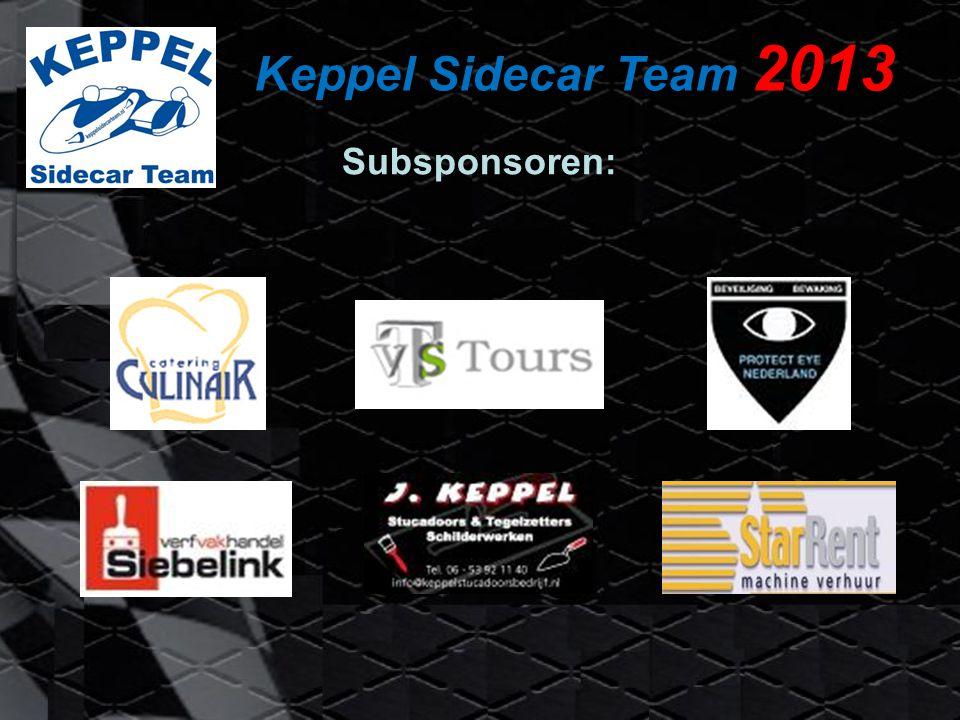 Keppel Sidecar Team 2013 Subsponsoren: