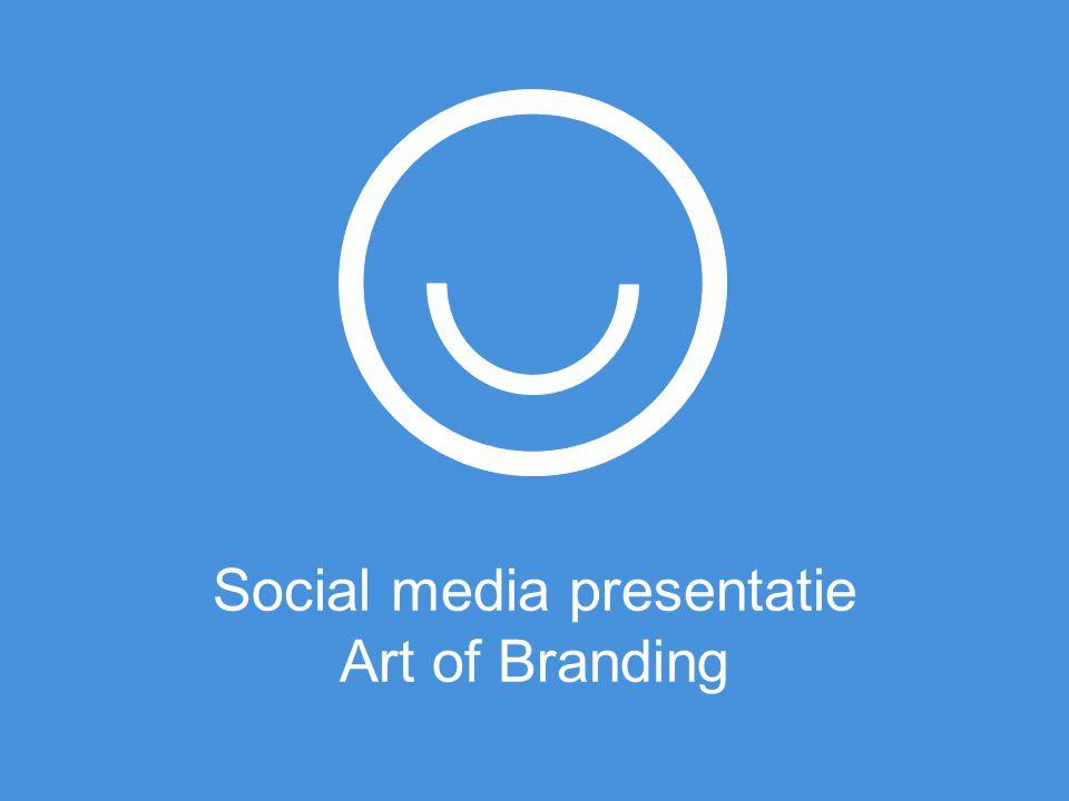 Social media presentatie Art of Branding
