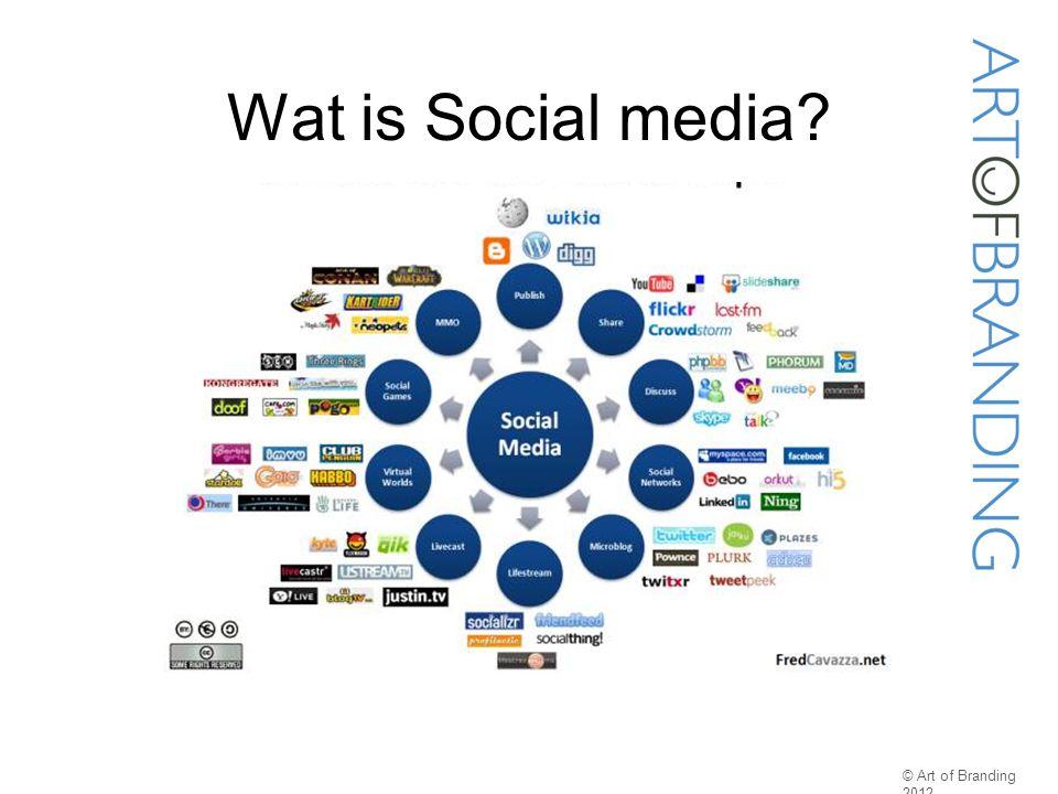 Wat is Social media? © Art of Branding 2012