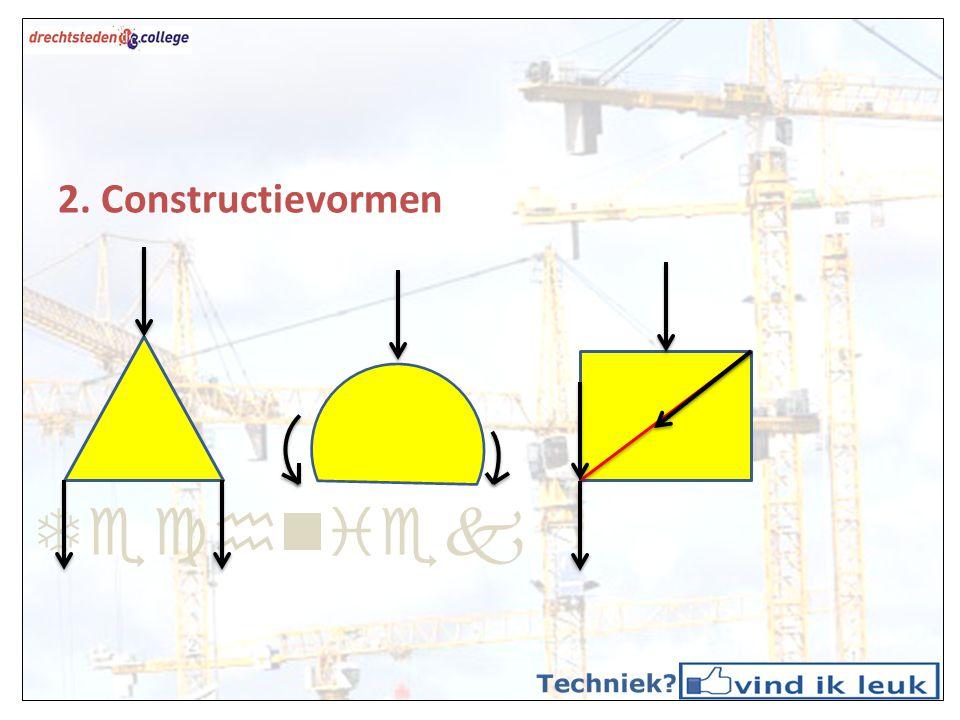 Techniek 2. Constructievormen