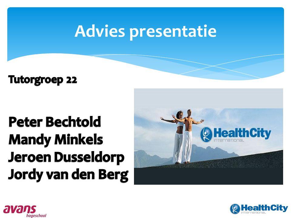 Advies presentatie