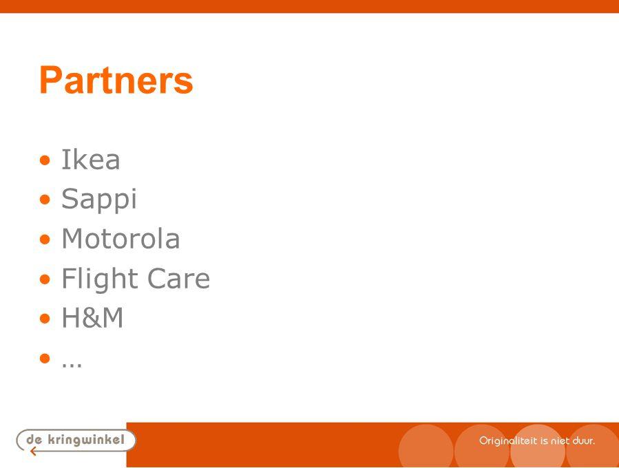 Partners Ikea Sappi Motorola Flight Care H&M …