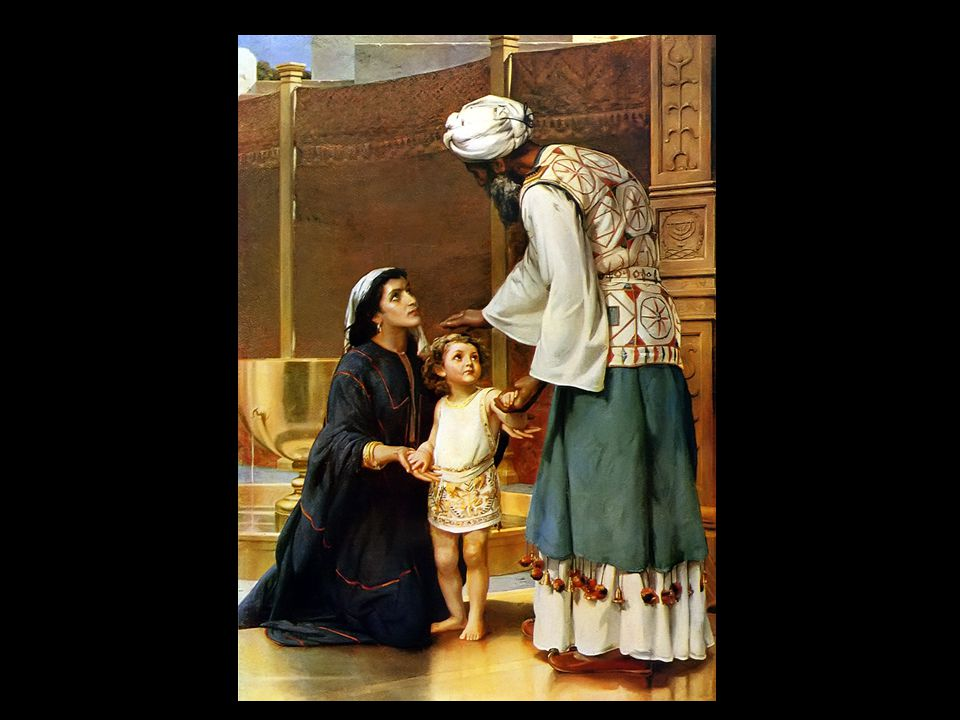 Hanna staat Samuël aan God af opvoeden is loslaten kracht van geloof en gebed.