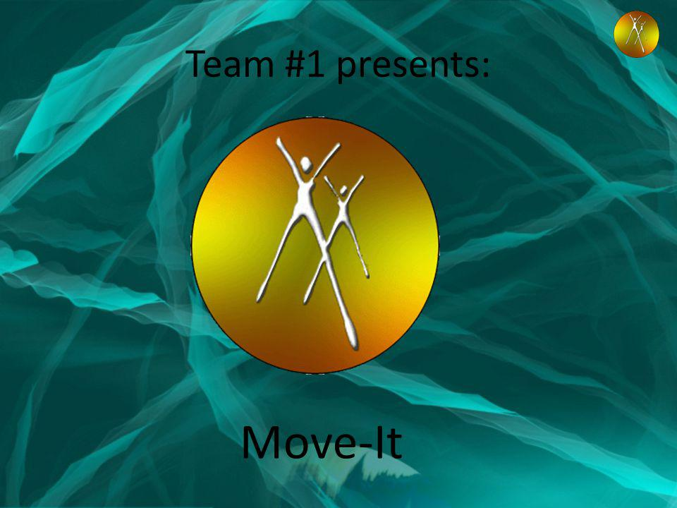 Team #1 presents: Move-It