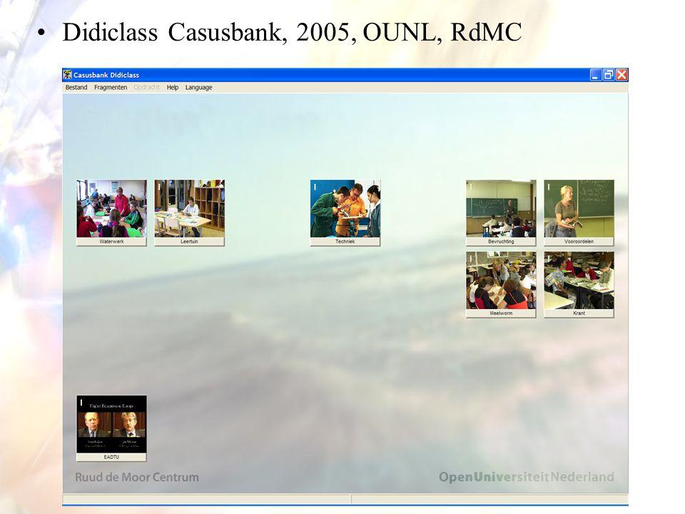 14 Didiclass Casusbank, 2005, OUNL, RdMC