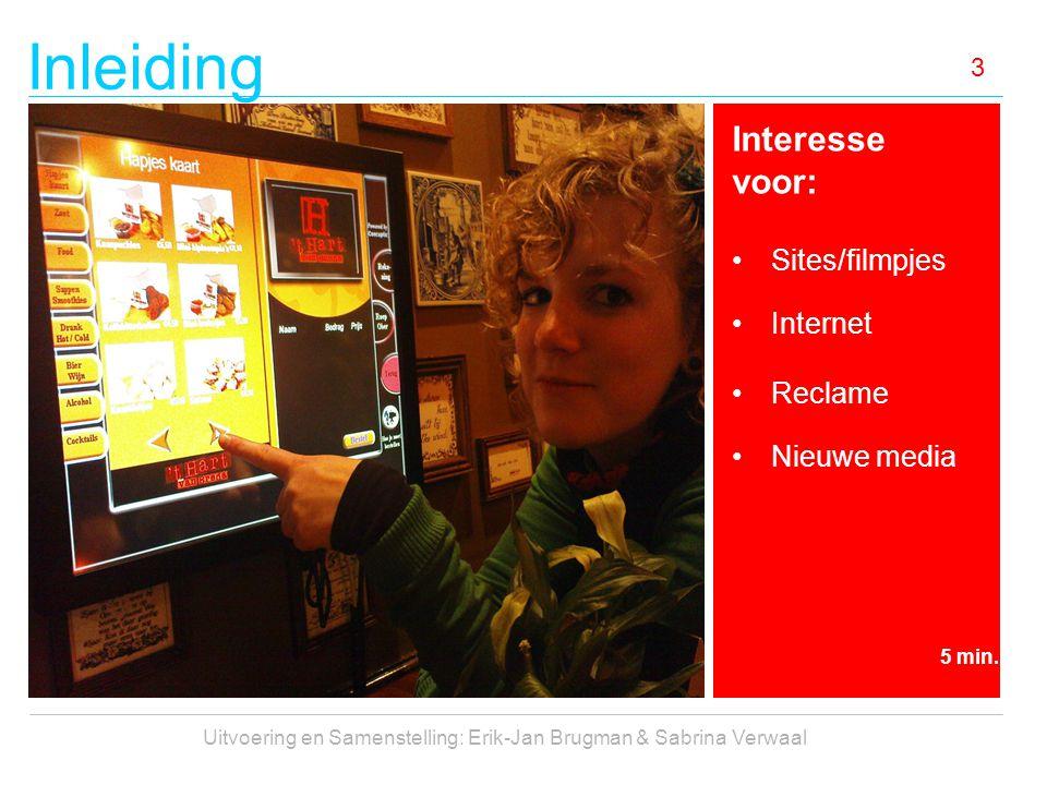 Inleiding 4 Ingrediënten: Creativiteit Nieuwsgierigheid Onderzoeksvaardigheid Teamspirit Zelfkritiek 5 min.