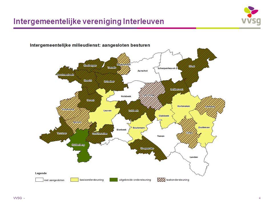 VVSG - 4 Intergemeentelijke vereniging Interleuven