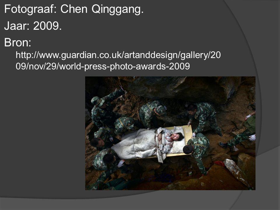 Fotograaf: Chen Qinggang. Jaar: 2009.