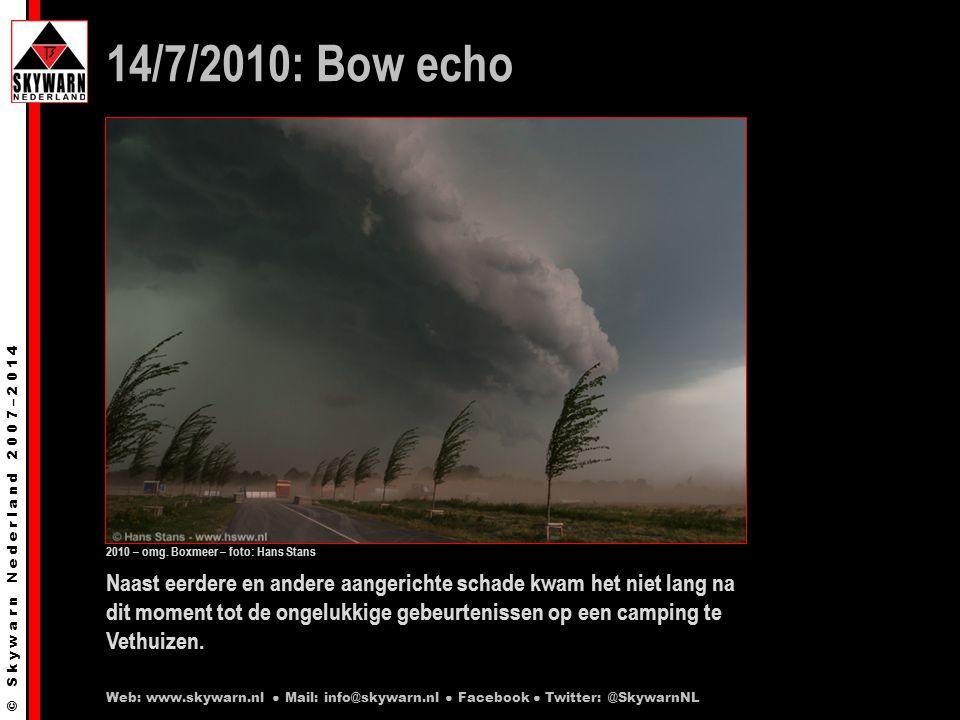 © S k y w a r n N e d e r l a n d 2 0 0 7 – 2 0 1 4 31/8/2008 23:05 Veldhoek (Gld) Grote hagel / hageldek Web: www.skywarn.nl ● Mail: info@skywarn.nl ● Facebook ● Twitter: @SkywarnNL 2012 – Veldhoek – Foto: Wilber Thus