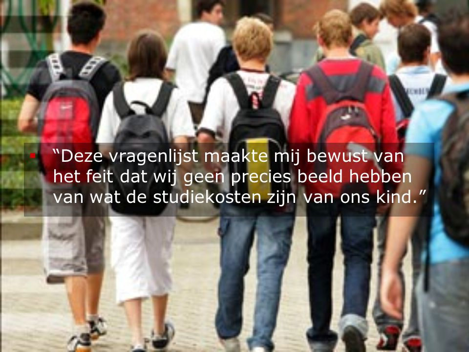 Studiekosten in het secundair onderwijs OBPWO 04.07 Joost Bollens en Mayke Poesen-Vandeputte