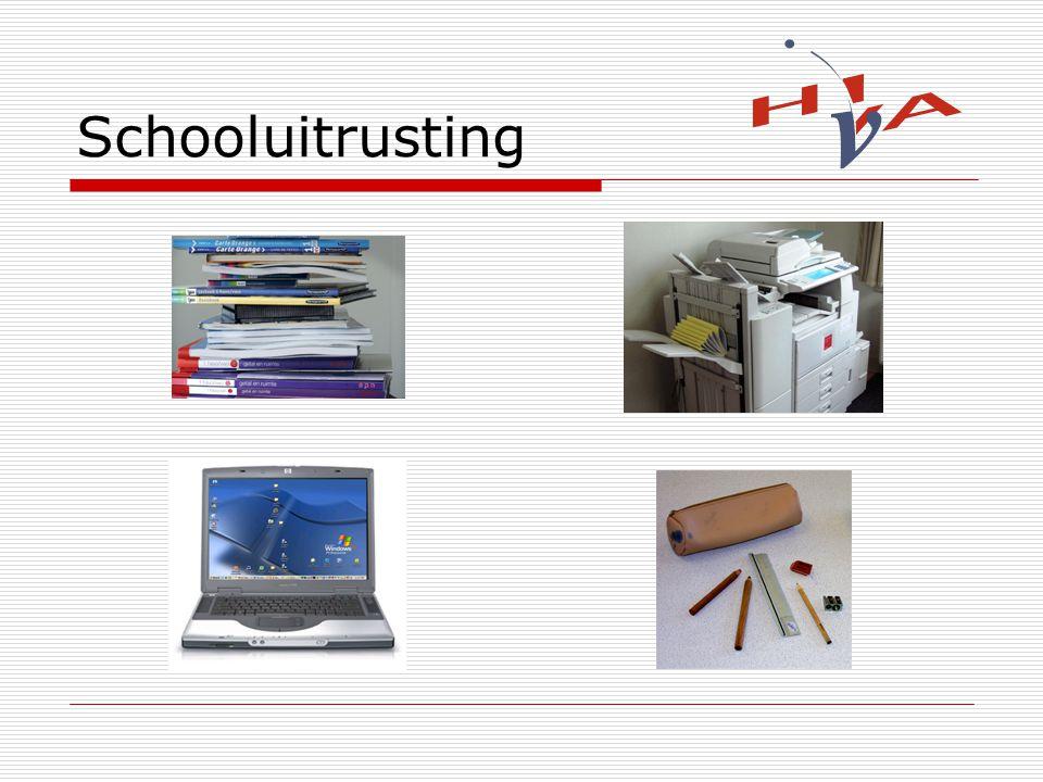 Schooluitrusting
