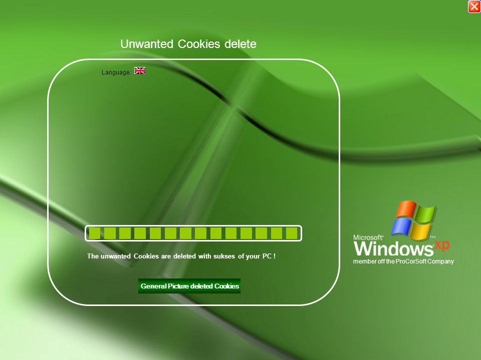 General Picture deleted Cookies Unwanted Cookies delete The unwanted Cookies are deleted with sukses of your PC .