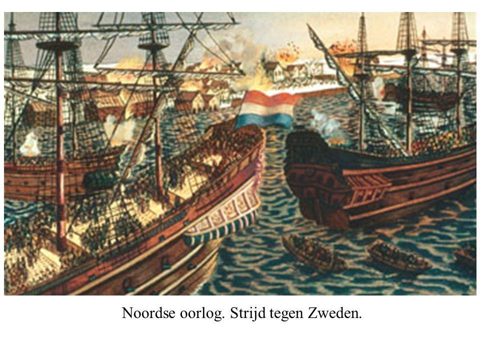 Noordse oorlog. Strijd tegen Zweden.