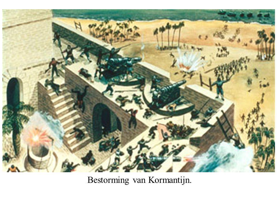 Bestorming van Kormantijn.