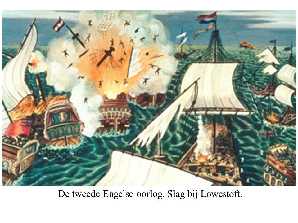 De tweede Engelse oorlog. Slag bij Lowestoft.