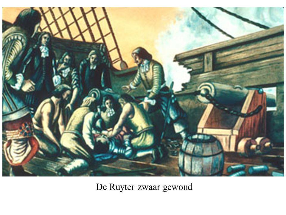 De Ruyter zwaar gewond