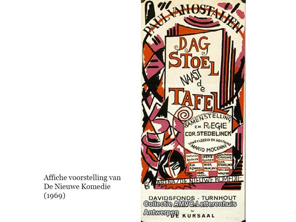 Affiche voorstelling van De Nieuwe Komedie (1969)