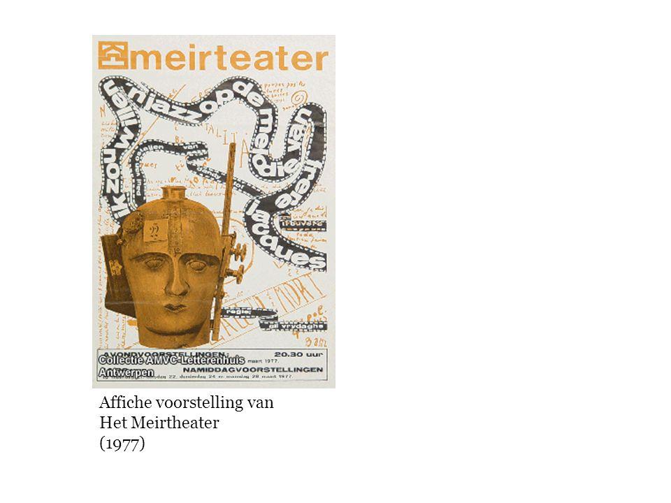 Affiche voorstelling van Het Meirtheater (1977)