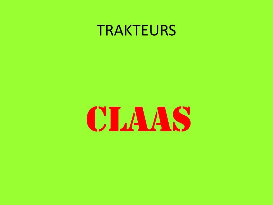 TRAKTEURS CLAAS